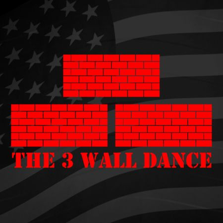 3 Wall Line Dance Iron on Decal
