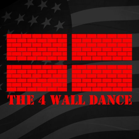 4 Wall Line Dance Iron on Decal
