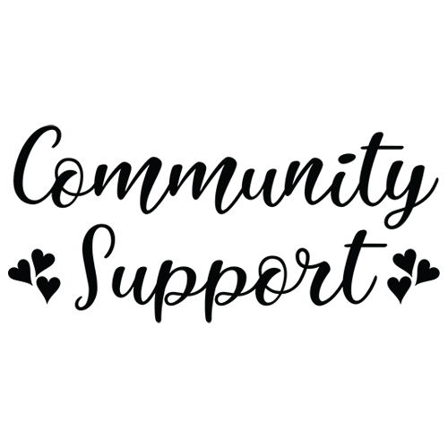 Community Support Decal