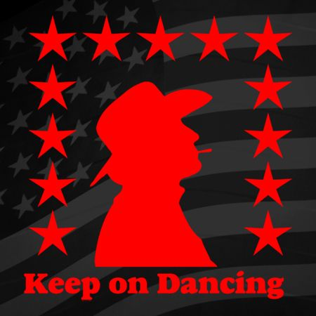 Keep on Dancing Iron on Decal