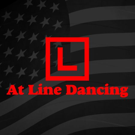 Learner at Line Dancing Iron on Decal