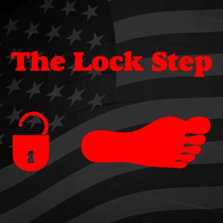 The Lockstep Iron on Decal