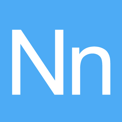 Iron on Letter N