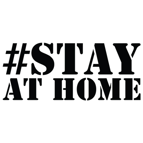 Stay at Home BOLD Decal