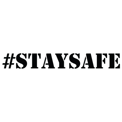 #StaySafe Decal
