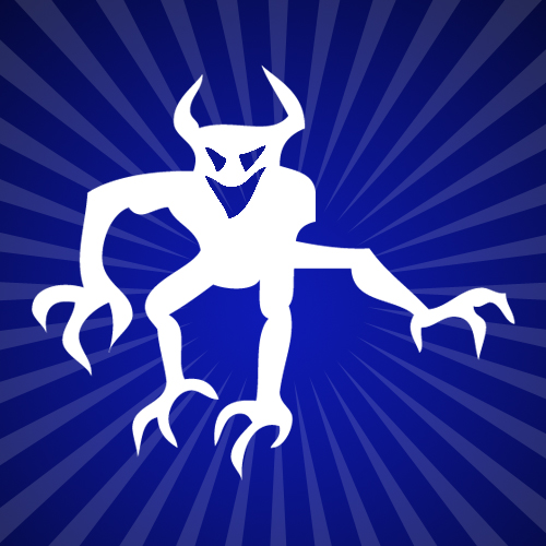 The Devil Iron on Decal