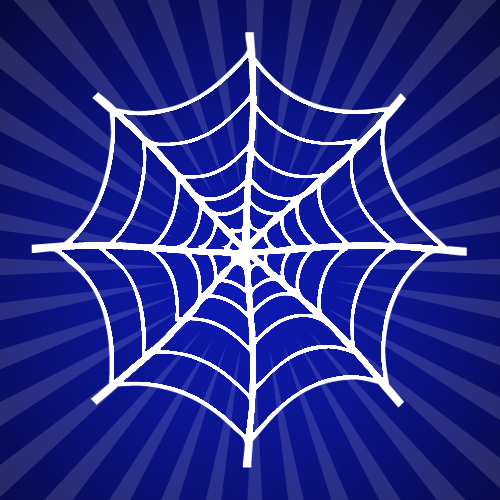 Spiders Web 2 Iron on Decal